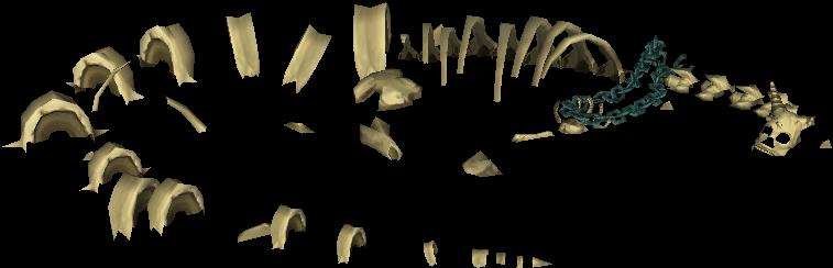 Huesos del dragón de Lanayru