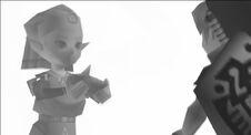 Zelda da Ocarina Link MM