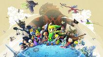 Artwork oficial Zelda Wind Waker HD