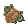 Breath of the Wild Korok Wooden Shield Forest Dweller's Shield (Icon)