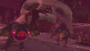 Enemigos reviviendo gracias a la luna carmesí BotW