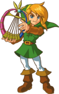 Link and the Harp of Ages