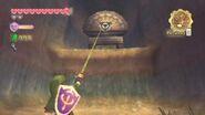 Link utilizando la zarpa SS