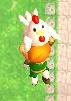 Link volando con un cuco ALBW