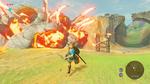Rocher Squelette Explosion BOTW