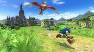 Sonic Lost World's Zelda Crossover