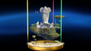 Super Smash Bros. for Wii U Skyloft (Skyward Sword) Skyloft (Trophy)