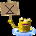 Grenouille dorée PH
