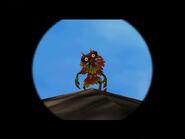 Skull Kid visto por telescopio