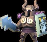 Hyrule Warriors Toon Zelda Phantom (Render)