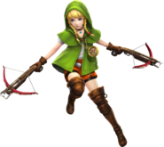 Linkle Arbalète Artwork HWL