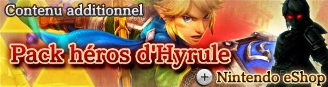 Pack Héros d'Hyrule banière HW
