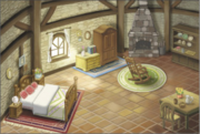 Hyrule Warriors Legends Locations Linkle's House - Interior (Artwork)