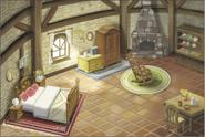 Hyrule Warriors Legends Locations Linkle's House - Interior (Artwork)