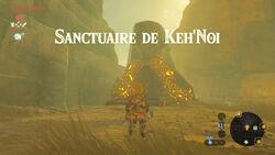 Sanctuaire de Keh'Noi BOTW