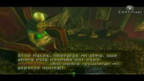 The legend of Zelda twilight princess Almas de espectro parte 1 (Español)