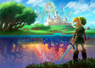 Artwork Plaine Hyrule ALBW