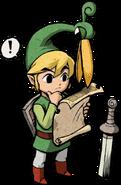 Link Minish carte