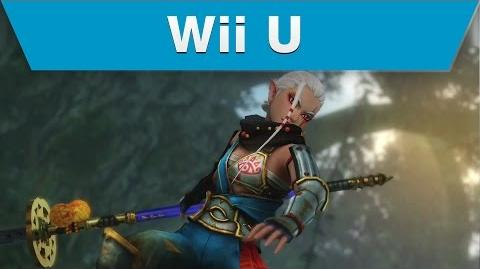 Wii U -- Hyrule Warriors Trailer with Impa and a Naginata