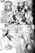 Ganon Fantasma en Manga OoT-3