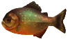Majora's Mask 3D Fish Mooranha (Swamp Fishing Hole)
