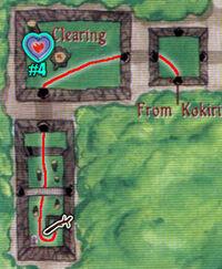 Mapa Bosque Kokiri OoT 2