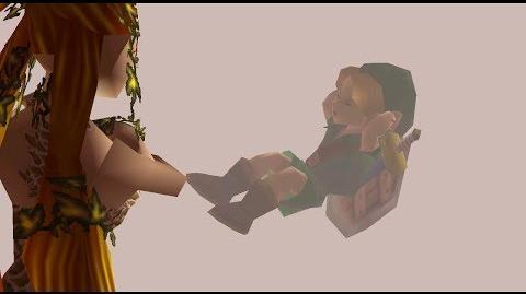 Scène inutilisée d'une des Grandes Fée dans Majora's Mask 2
