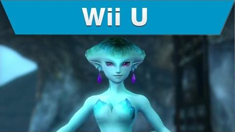 Wii U -- Hyrule Warriors Trailer with Ruto and a Zora Scale