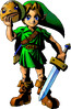 Link Masque Goron
