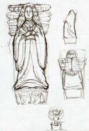 Statue de la Déesse 4 HH