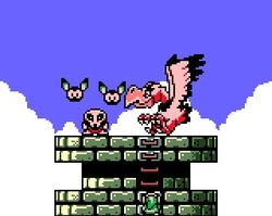Creeper grimm et evil eagle