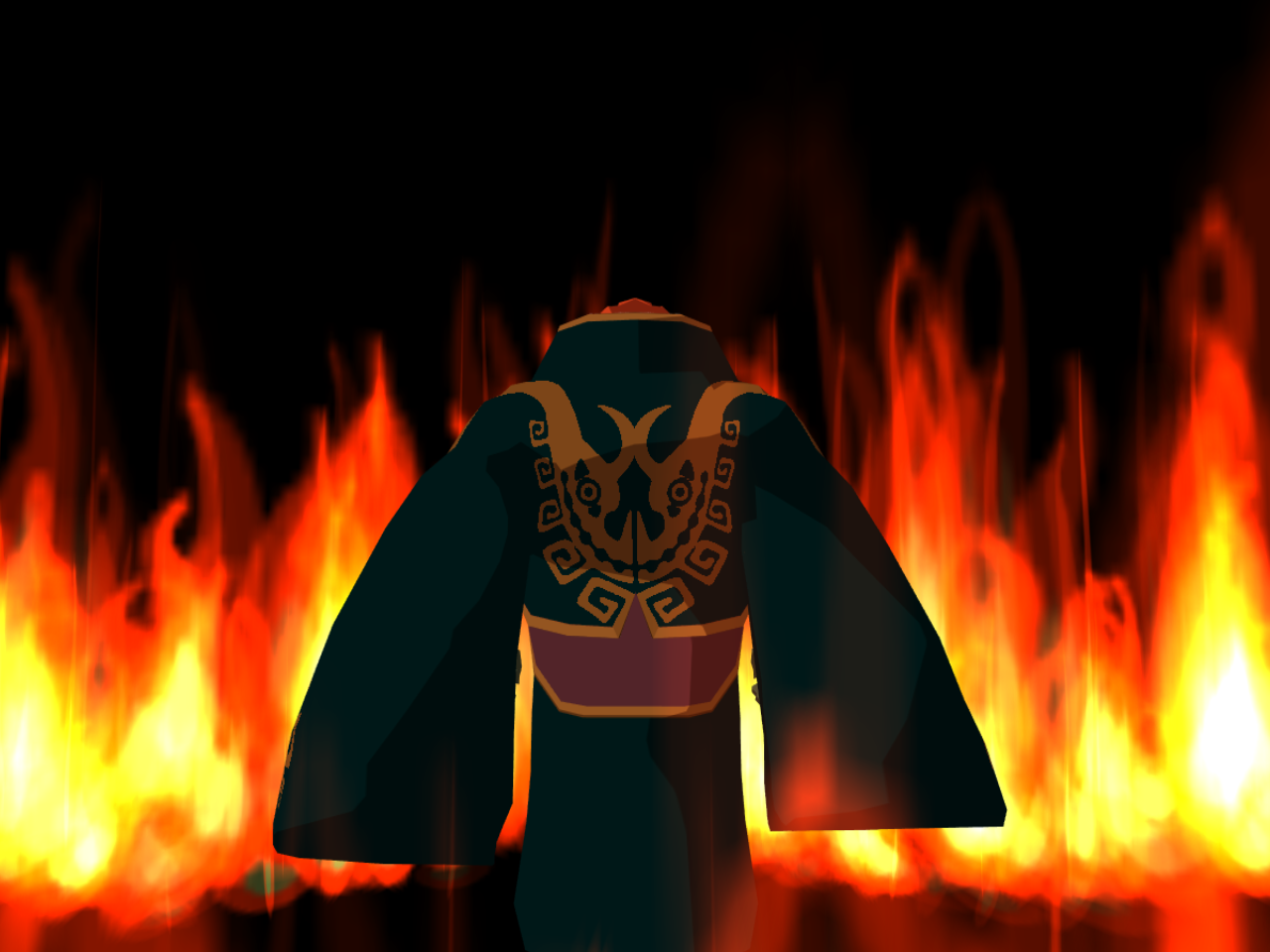 Image result for wind waker ganon fire