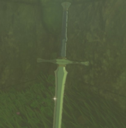Breath of the Wild Soldier's Equipment Soldier's Claymore (Faron Tower)