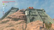 Die Mauern der Ruine
