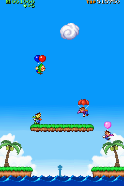 Gameplay (Tingle's Balloon Fight DS)