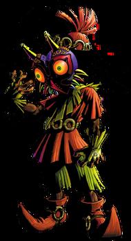 Horror-Kid Artwork (Majora's Mask)
