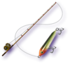 Majora's Mask 3D Fishing Rod (Standard Lure)