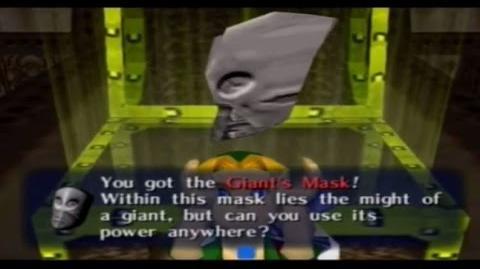 Majora´s Mask - Máscara del Gigante