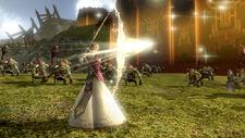 Zelda TP arco luz en HW