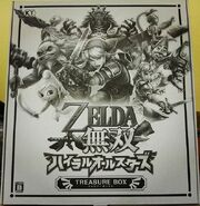 Envoltorio caja del tesoro Hyrule Warriors Legends