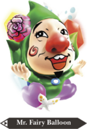 Hyrule Warriors Balloon Mr. Fairy Balloon (Render)