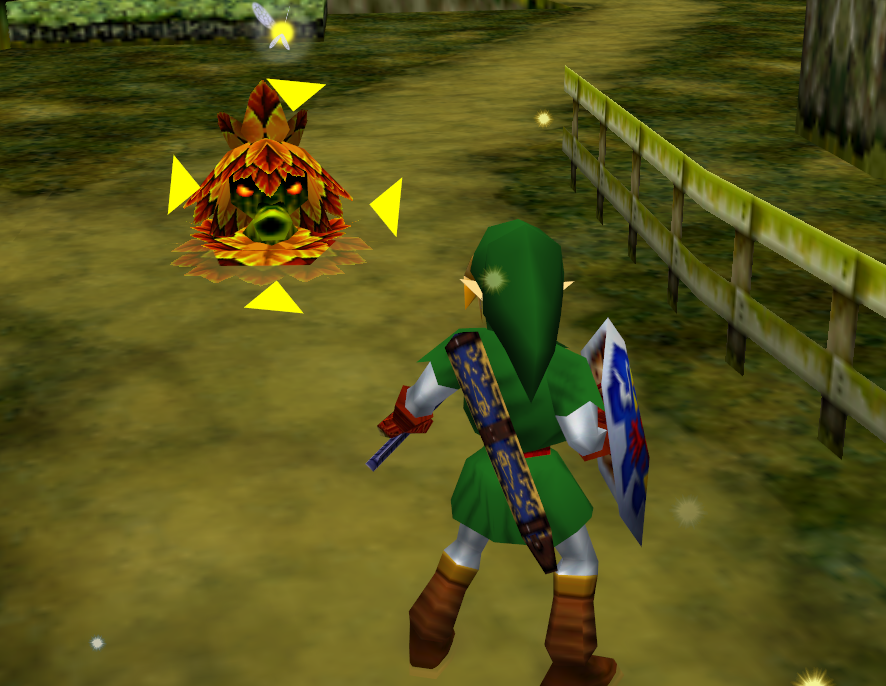 Image result for ocarina of time z targeting