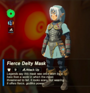 Breath of the Wild Fierce Deity Equipment (Mask) Fierce Deity Mask (Inventory)