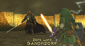 Ganondorf and Link (Twilight Princess)