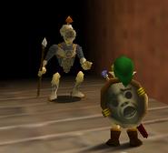 MM-Soldado impidiendo que Link pase