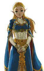 Transparent Zelda