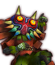 Portrait Skull Kid HWL4
