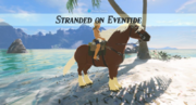 Breath of the Wild Side Quests Stranded on Eventide (with Epona)