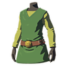 Breath of the Wild amiibo Rune Items (Hero of Wind Armor Set) Tunic of the Wind (Icon).png