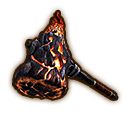 Hyrule Warriors Hammer Igneous Hammer (Icon)